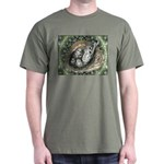 Nesting Pigeons Decorative Dark T-Shirt