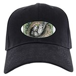 Nesting Pigeons Decorative Black Cap