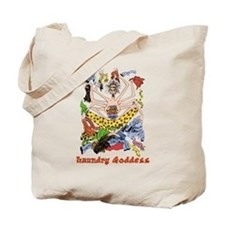 The Laundry Goddess Tote Bag