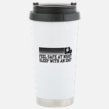 Feel Safe With AN EMT Stainless Steel Travel Mug