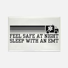 Feel Safe With AN EMT Rectangle Magnet