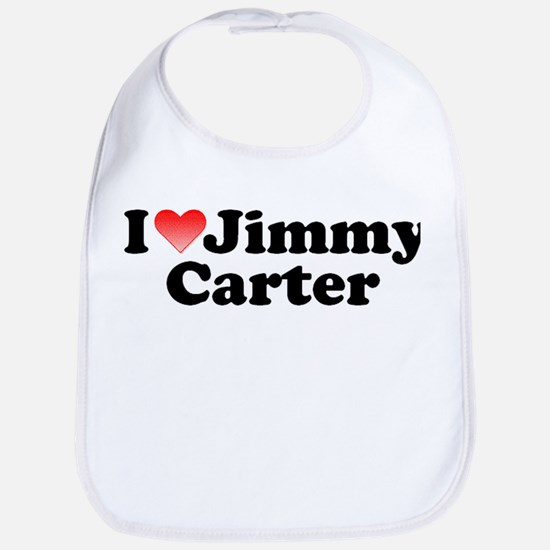 I Love Jimmy Carter Bib