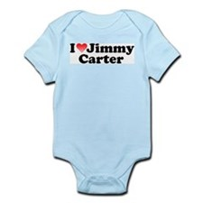 I Love Jimmy Carter Infant Creeper