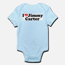 I Love Jimmy Carter Infant Creeper