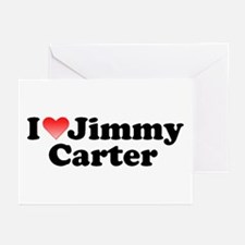 I Love Jimmy Carter Greeting Cards (Pk of 10)