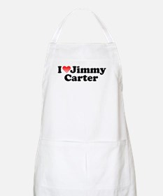 I Love Jimmy Carter BBQ Apron
