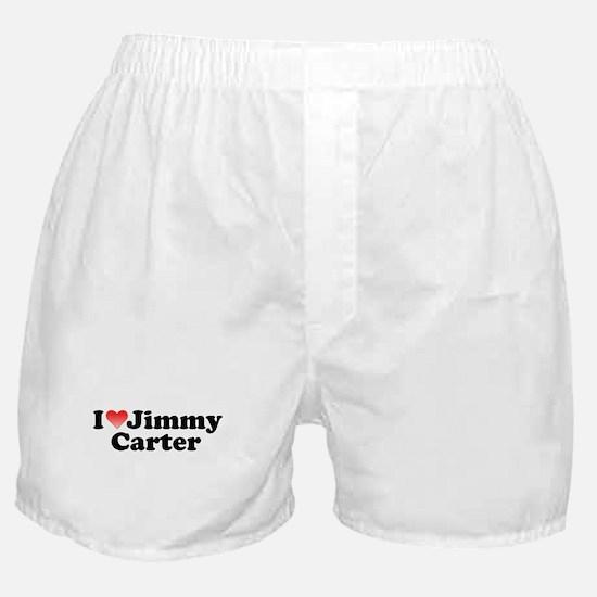 I Love Jimmy Carter Boxer Shorts