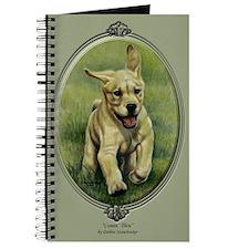 Coming Thru! Yellow Lab Puppy Journal