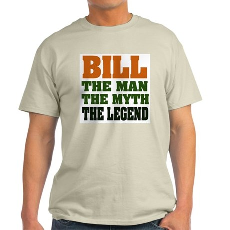 BILL - The Legend Ash Grey T-Shirt