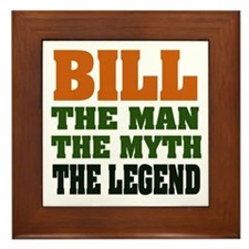 BILL - The Legend Framed Tile