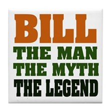 BILL - The Legend Tile Coaster