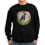 Racing Pigeon Heart Sweatshirt (dark)
