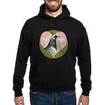 Racing Pigeon Heart Hoodie (dark)