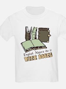 English Majors Books T-Shirt