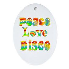 Disco Ornament (Oval)