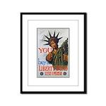 Buy a Liberty Bond Poster Art Framed Panel Print