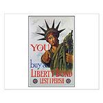 Buy a Liberty Bond Poster Art Small Poster