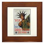Buy a Liberty Bond Poster Art Framed Tile