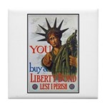 Buy a Liberty Bond Poster Art Tile Coaster