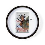 Buy a Liberty Bond Poster Art Wall Clock