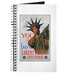 Buy a Liberty Bond Poster Art Journal