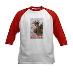 Buy a Liberty Bond (Front) Kids Baseball Jersey