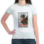 Buy a Liberty Bond Poster Art Jr. Ringer T-Shirt