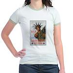 Buy a Liberty Bond (Front) Jr. Ringer T-Shirt
