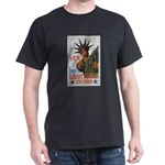 Buy a Liberty Bond (Front) Black T-Shirt
