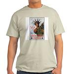 Buy a Liberty Bond (Front) Ash Grey T-Shirt