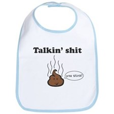 Talkin' Shit Bib