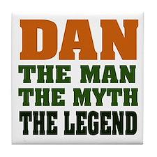 DAN - The Legend Tile Coaster