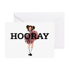 TOP Hooray Cheer Greeting Cards (Pk of 20)