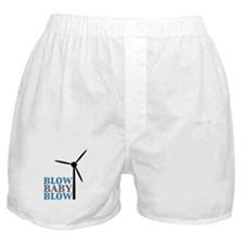Blow Baby Blow (Wind Energy) Boxer Shorts