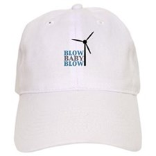 Blow Baby Blow (Wind Energy) Baseball Cap