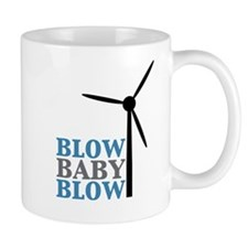 Blow Baby Blow (Wind Energy) Mug