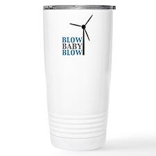 Blow Baby Blow (Wind Energy) Travel Mug