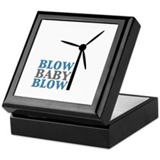 Blow Baby Blow (Wind Energy) Keepsake Box