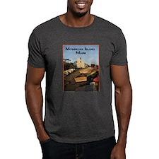 Monhegan Island Afternoon Lig T-Shirt