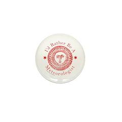 METEOROLOGIST/METEOROLOGY Mini Button (10 pack)