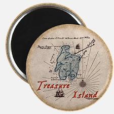 Treasure Island Magnet
