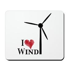 I love wind Mousepad