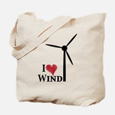I love wind Tote Bag