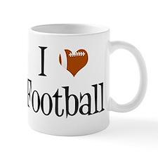 I Heart Football Mug