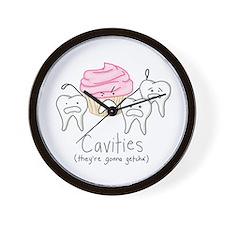 Cavities - Wall Clock