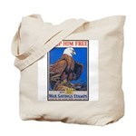 Keep Him Free Eagle Tote Bag
