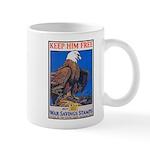 Keep Him Free Eagle Mug