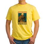 Keep Him Free Eagle Yellow T-Shirt