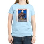 Keep Him Free Eagle Women's Pink T-Shirt