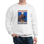Keep Him Free Eagle (Front) Sweatshirt